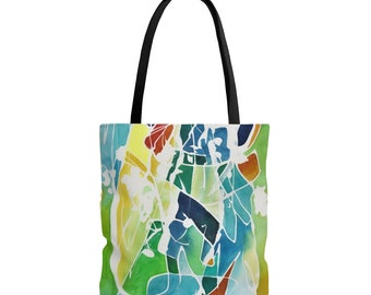1aeb789725 Abstract Watercolor Art Tote Bag