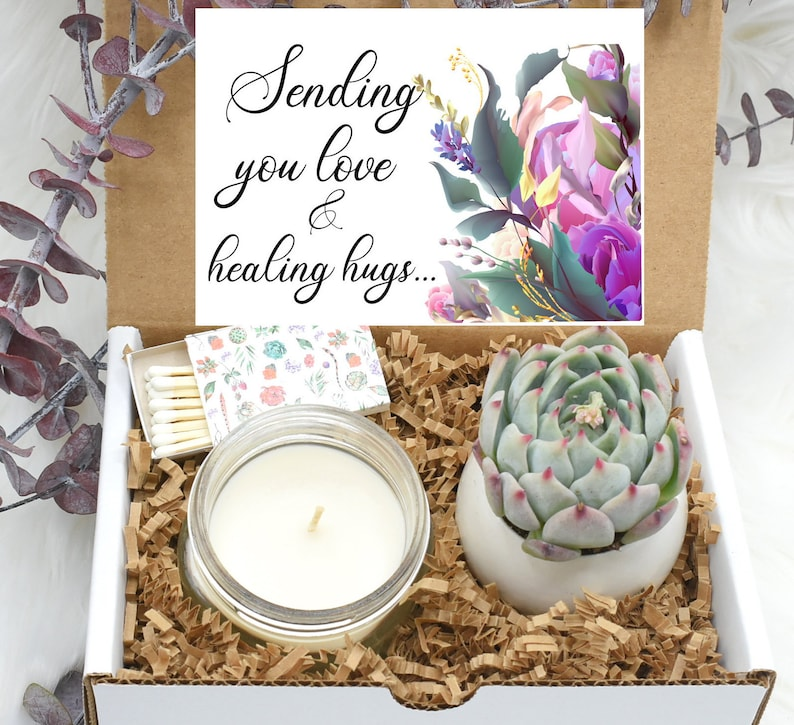 Healing Vibes Gift Box  Healing Vibes Care Package  Healing image 0