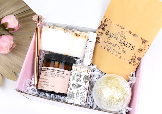 Mental Health Self Care Package for Her  Self Care Box For