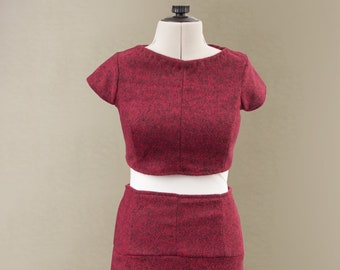 Summer Chic Two Piece Top and Skirt