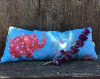 Lavender Eye Pillows family bundle of 4 with strap