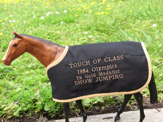 Touch Of Class Embroidered Blanket For Breyer Olympic Show Etsy