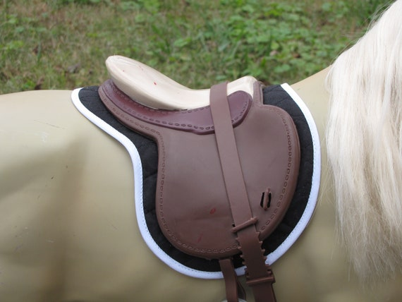 WESTERN SADDLE PAD for American Girl Battat Our Generation AG horse horses