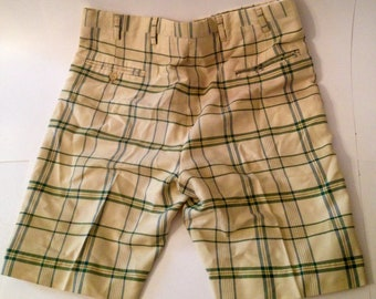 Preppy Plaid Shorts