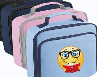 EMOJI GEEK LUNCH Bag Box