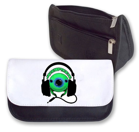 JACKSEPTICEYE DOUBLE PACK BAG    PENCIL CASE  (EYE ) BAGBASE PERFECT ... 379671143