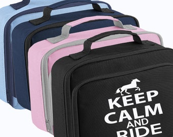 Keep Calm And RIDE Lunch Bag Box