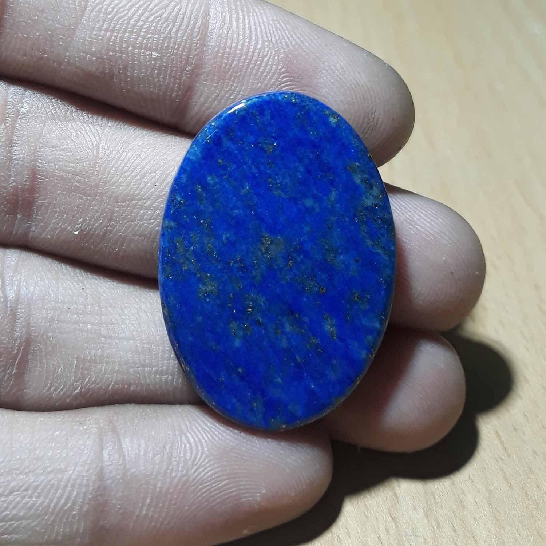 LAPIS LAZULI Pierre - de palme naturelle Lapis Pierre, Lazuli Pierre, Lapis  Crystal Palm 60d4a9127d7