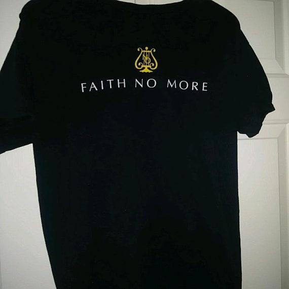 Ultra Rare FAITH NO MORE Concert tshirt