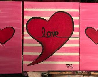 Love Hearts (3pc. Set)