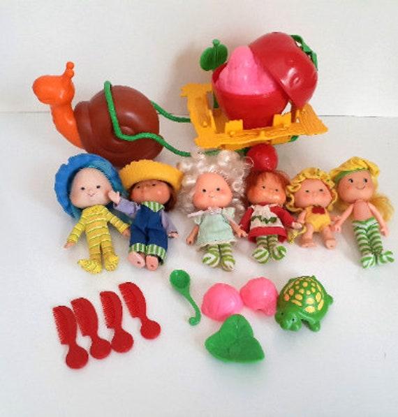 Vintage Strawberry Shortcake Dolls 1980 S Etsy