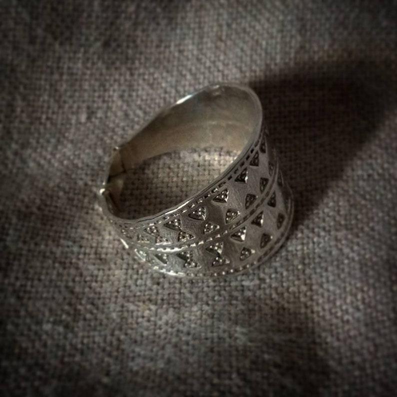 Silver Viking Gotland Ring replica