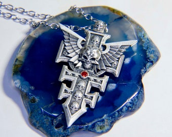 Warhammer pendant Grey Knights pendant Inspired by WH universe.