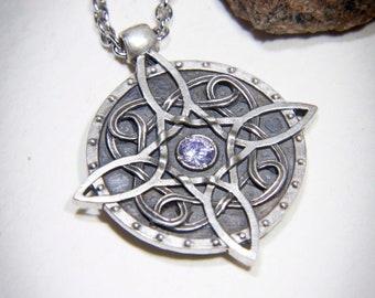 da52457fa1 Sterling silver Amulet of Mara / Twosided skyrim pendant / The Elder  Scrolls Necklace / Skyrim cosplay Necklace / Oblivion Morrowind amulet