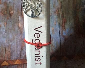 Traveler's Notebook hardback journal cover - Veganist
