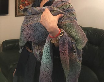Scarf made by the finest mohair yarn