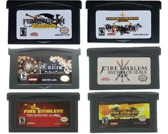 FireEmblem Gameboy Game Cartridge for GBA US Version Reproduction Free Shipping