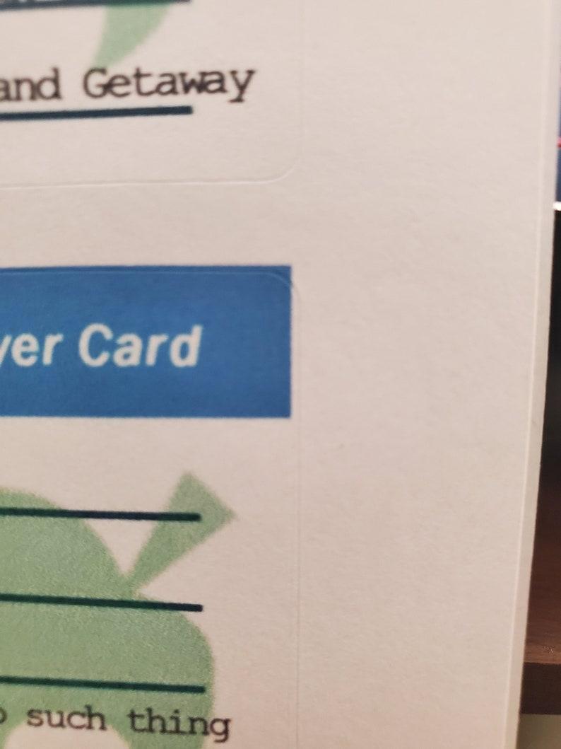 DISCOUNTED AC Amiibo Cards Misprinted Animal Crossing Amiibos