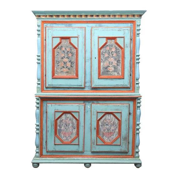 1700 1800s swedish antique cupboard - Antique Cupboard