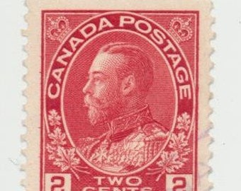 Canadian red 2 cent King George V lot of 25