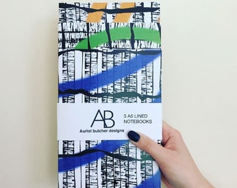 A5 Lined notebook pack