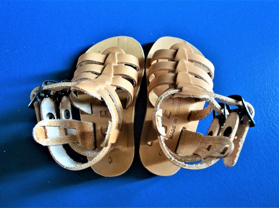 Sandals Sandals Boy Greek Kids Girl Sandals Ancient Sandals Brown Grecian Baby Sandals Sandals Leather Baby Leather Genuine Light xxTB7q