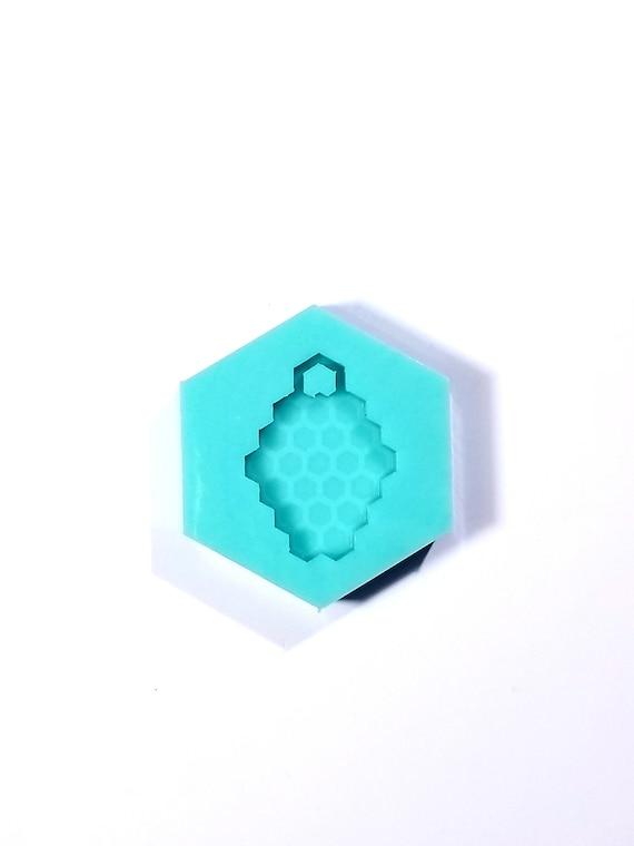 Shiny Comb keychain Mold