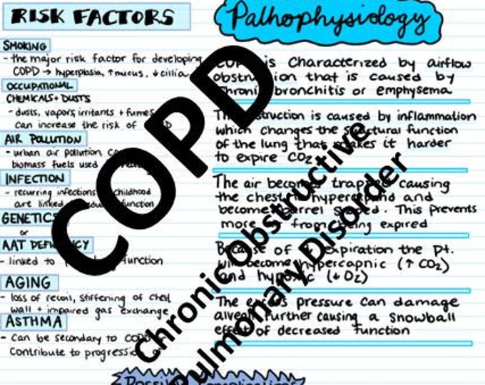 COPD Study Guide
