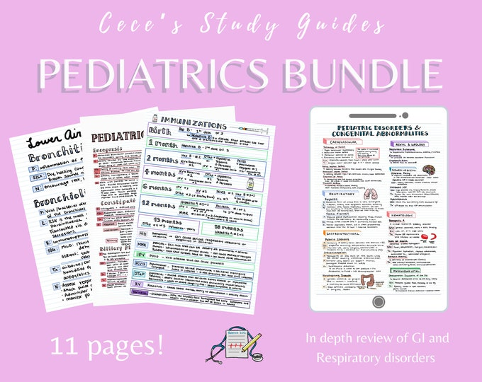Pediatrics Bundle