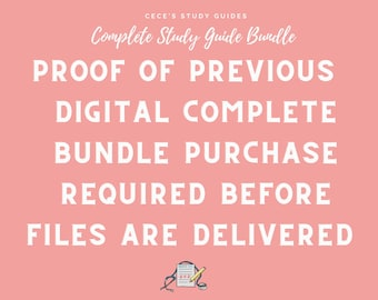 DIGITAL UPGRADE - Complete Bundle - Only for those who have previously bought Digital Complete Bundle - Proof of previous purchase required*