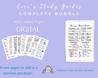 CLEARANCE - DIGITAL - 2021 Added Pages Only - Add on to previous Digital Complete Bundle purchase!