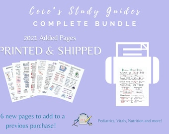CLEARANCE - 2021 Added Pages Only - Digital + Printed - Add on to previous complete bundle purchase!
