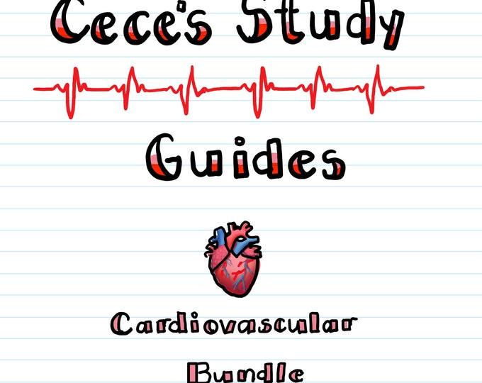Cardiovascular Nursing Bundle - Cardiac Nurse - 25 Pages