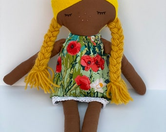 Handmade Cotton Rag Doll Plush Kids Toy