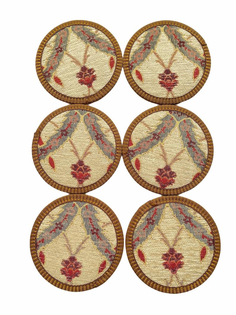 Ottoman design Coasters CoasterDrink Coasters 4,5inch Home decorhandmadehousewarming gift