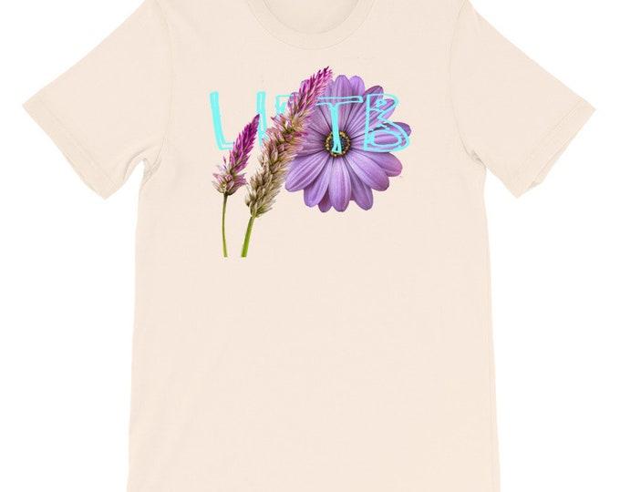 The flowered logo