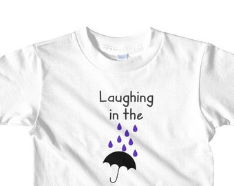 Purple Rain t-shirt ages 2-6, Fun toddler tshirt, Fun kids tshirt, Fun toddler gift