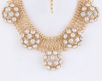 Fashion Statement Bib Necklace
