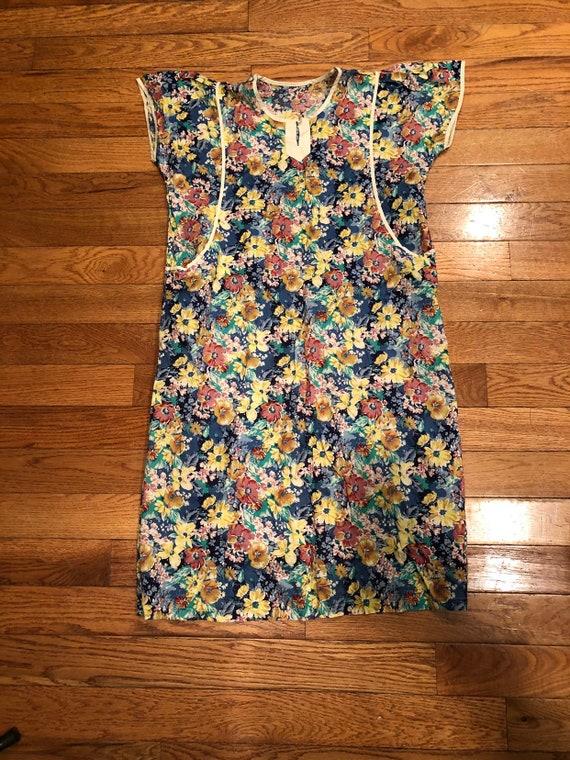 Vintage 50s 60s MuuMuu Dress Floral