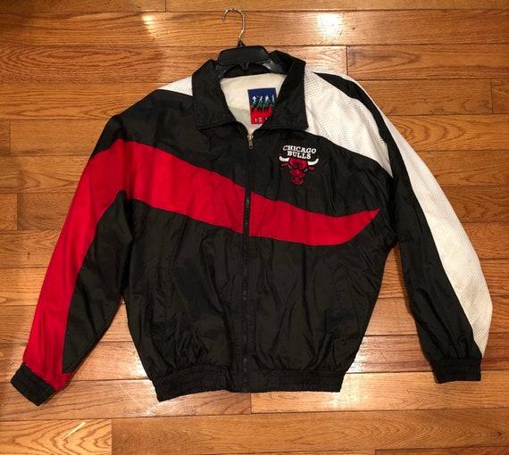 90s Chicago Bulls Winbreaker