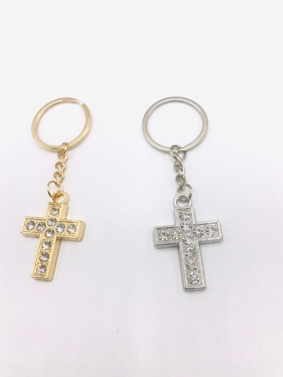 12 Cross Bracelet Baptism Bautizo Wedding Mis 15 Funeral Recuerdos Party Favors