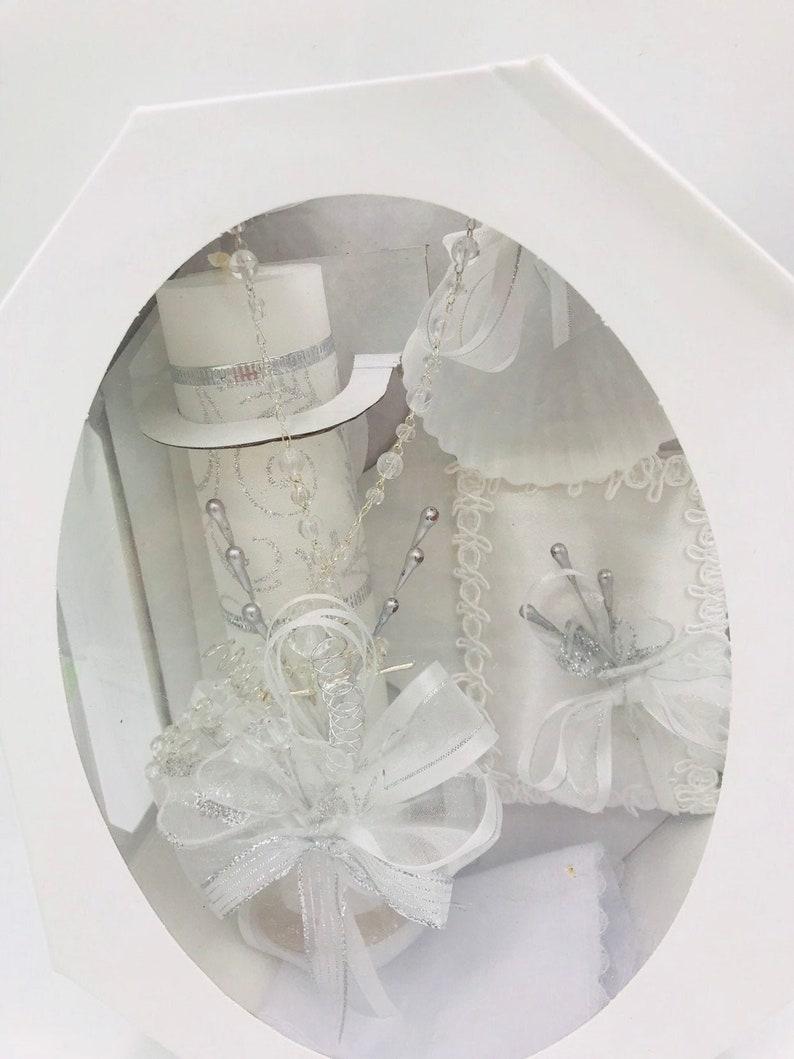 5pcs baptism candle set boys or girlsvela para Bautizo nina o nino set de vela de Bautizo