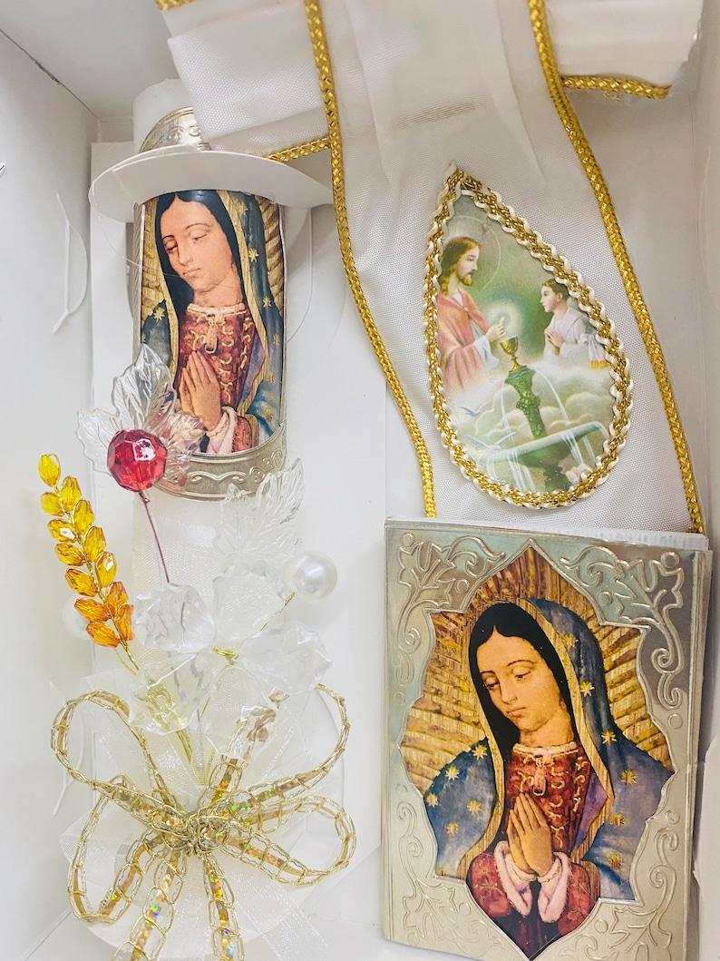 BOYS Sets de velas para primera comuni\u00f3n first communion candle set velas de communion de nina 4pcs Spanish