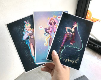 Sailor Moon Art Prints (SET of 5)