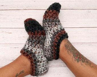 Crochet Adult socks; Adult booties; Adult slippers; Crochet Adult Slipper Socks