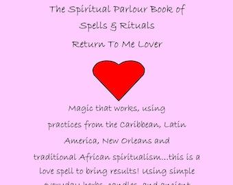 Love spell | Etsy