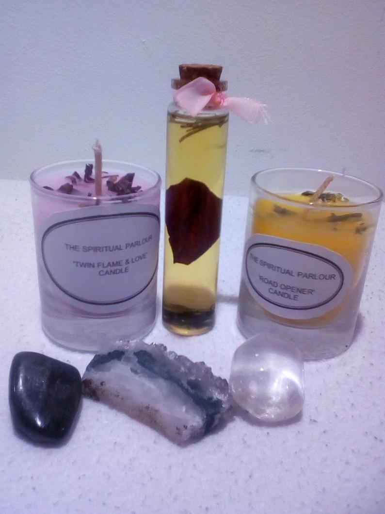 Love Manifestation Candle Set, Road Opener Candle, Twin Flame Candle,  Spiritual Candle, Ritual Candle, Hoodoo Candle Manifestation Candle