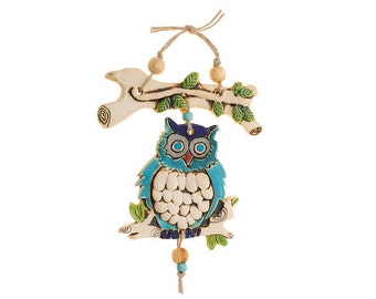 owl's Mobile On a branch