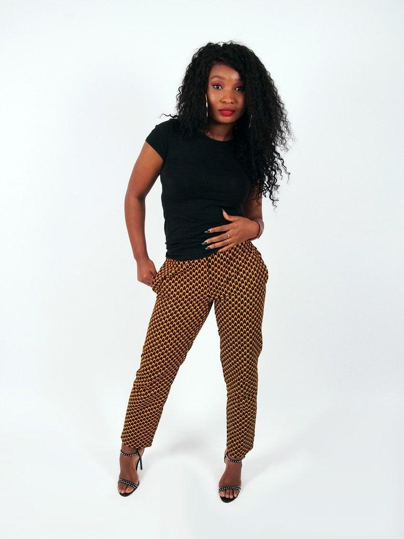 5de4d3367ee9b3 African print Trousers CHICHIMA wax pants ankara