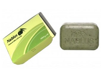 Nablus Organic Soap in Mint and Olive Oil